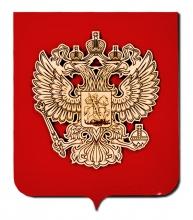 Гравировка фанеры (герб)